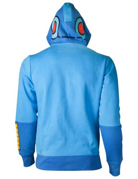 Mega Man Blue Hoodie
