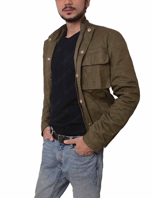 Uncharted 4 A Thiefs Nathan Drake Grey Jacket