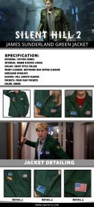 Silent Hill 2 Jacket Infographic