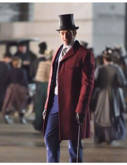greatest showman red coat
