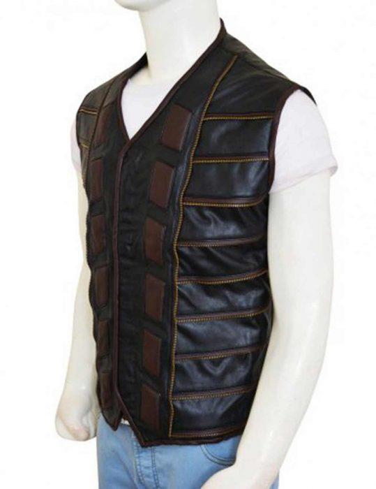 dark matter leather vest