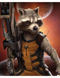 Avengers Infinity War Rocket Vest