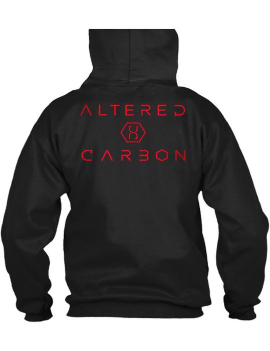 altered carbon cotton hoodie
