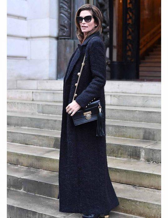 Cindy Crawford Wool Coat