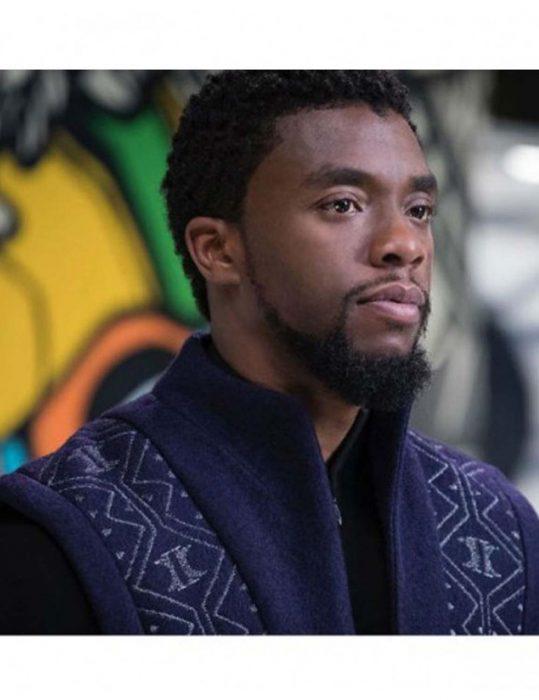 Avengers Infinity War Chadwick Boseman Coat