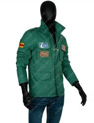 James Sunderland Silent Hill 2 Green Jacket