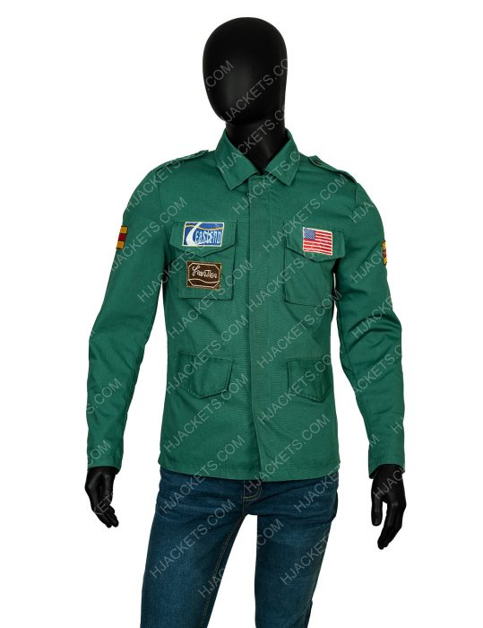 Silent Hill 2 James Sunderland Green Jacket