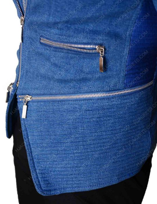 Killer Frost Flash Season 4 Blue Denim Jacket