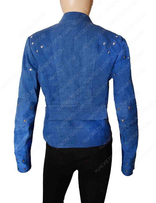 Killer Frost Flash Season 4 Blue Jacket