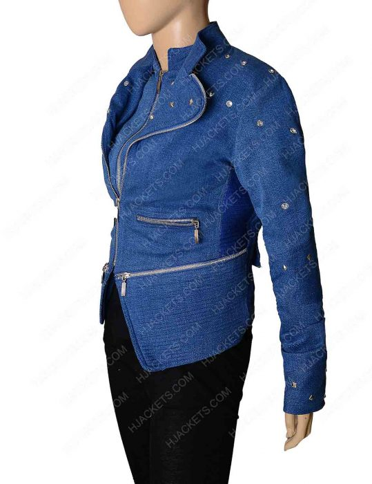 Killer Frost Flash Season 4 Denim Jacket
