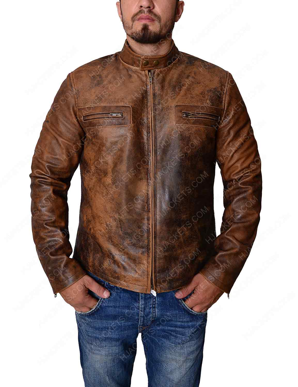 Oct 14,  · Buy a casual biker jacket if you're tall. Motorcycle or biker jackets typically contain several visual effects such as zippers and pockets that can overwhelm the frame of men typically considered to be short%(8).