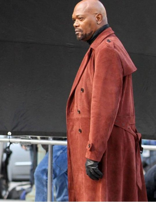 Samuel L. Jackson John Shaft Ii Trench Coat