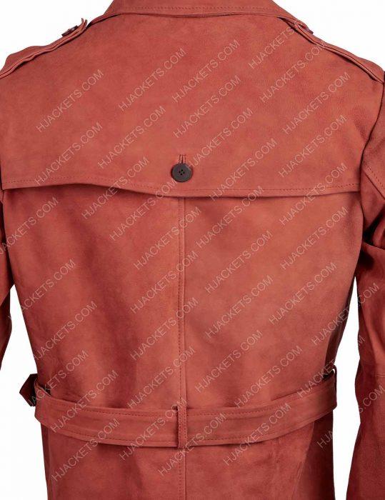Samuel L. Jackson John Shaft II Maroon Coat