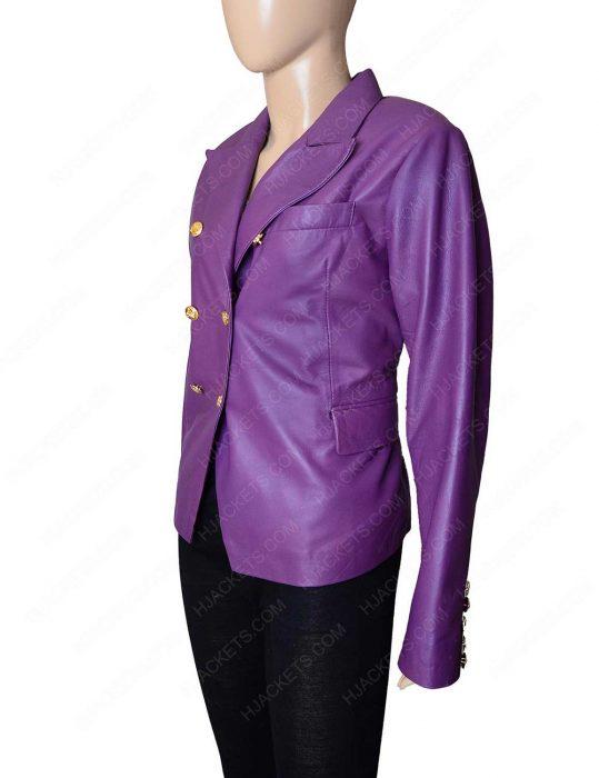 balmain double breasted blazer coat