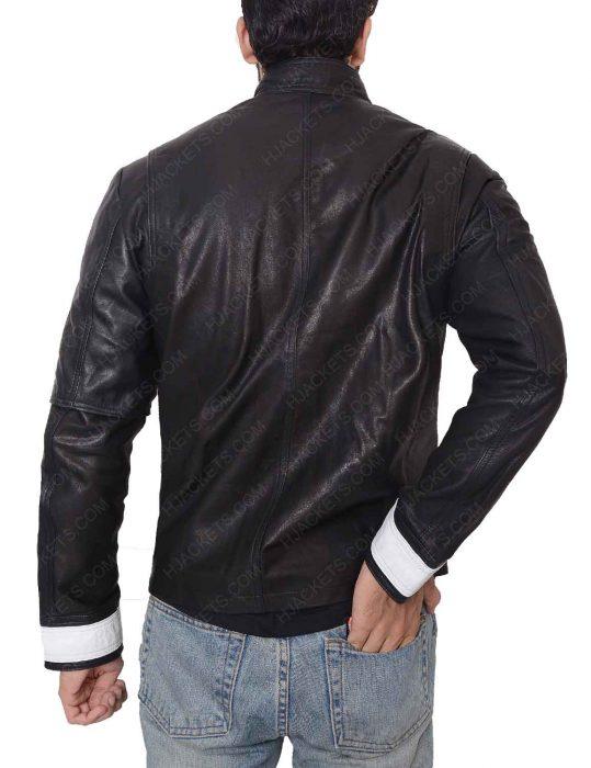 fahrenheit 451 beatty black leather jacket