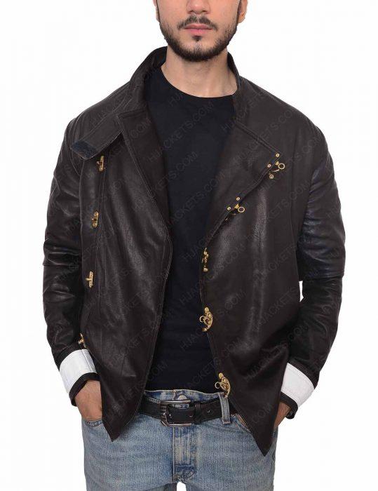 fahrenheit 451 beatty leather jacket