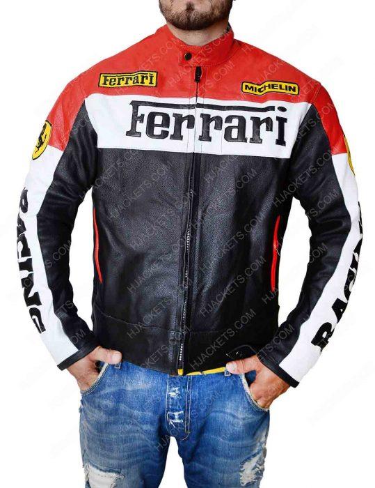 Ferrari Biker Jacket