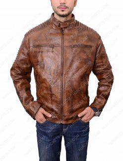 distressed-brown-leather-jacket