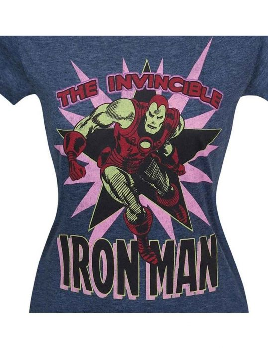 Womens Iron Man Shirt