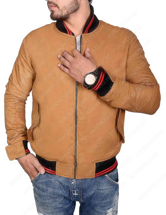 Ryan Reynolds Bomber Brown Jacket