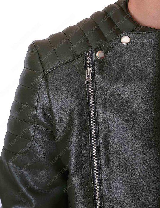 kid cudi quilted motorcycle jacket