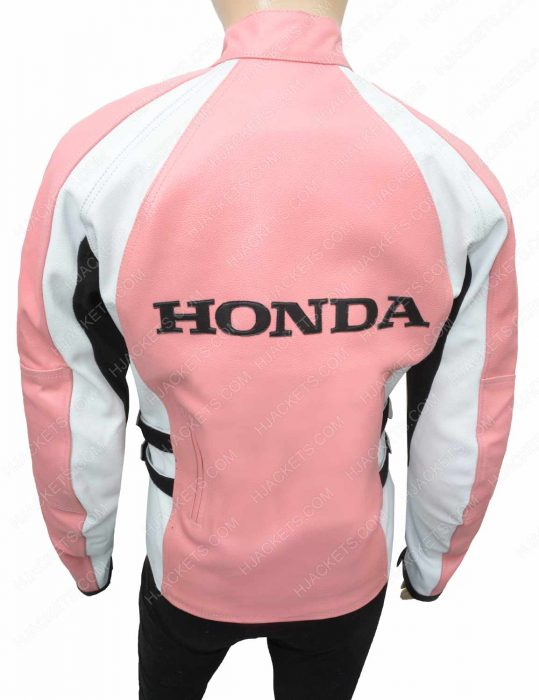 womens honda biker jacket