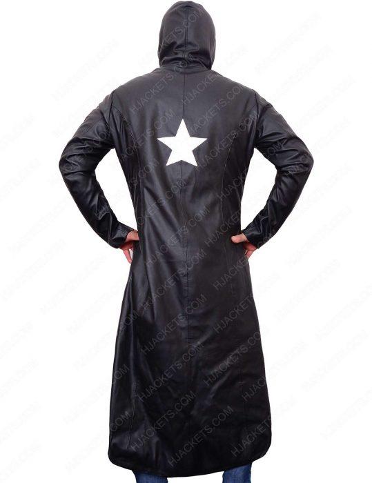 Black Rock Shooter Long Leather Coat