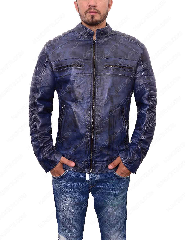 New Women Genuine Real Leather Jacket Ladies Slim Fit Biker Coat Cafe Racer