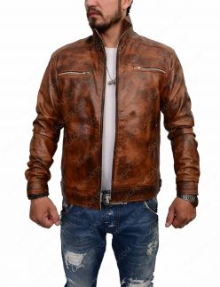 brett dalton leather jacket
