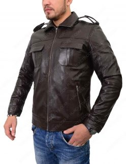 mens double pocket jacket