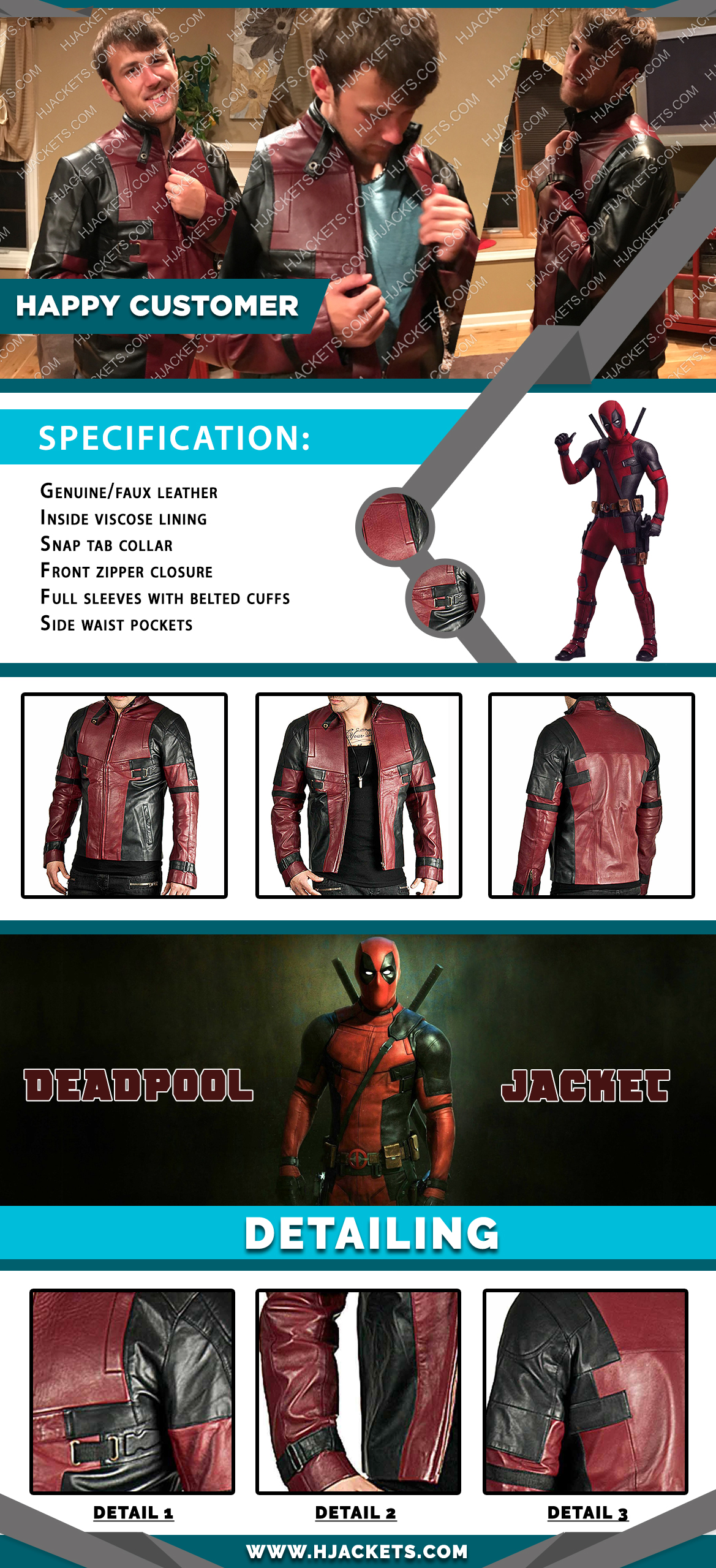 Deadpool Infographic