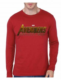 infinity war red t-shirt