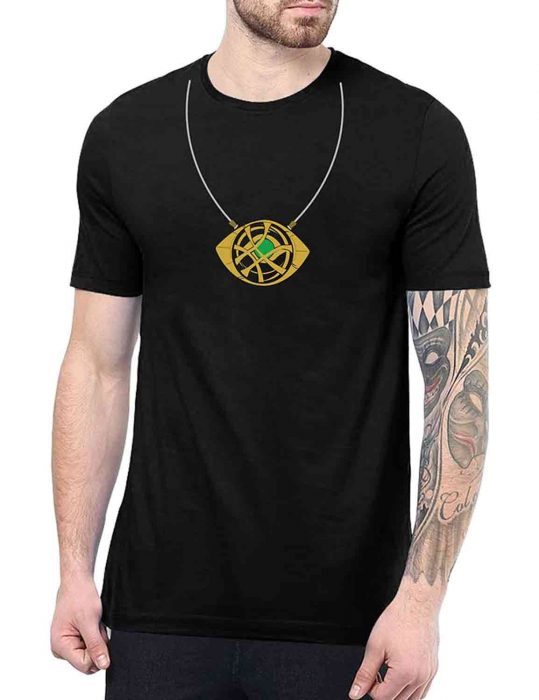 doctor strange eye of agamotto necklace t shirt