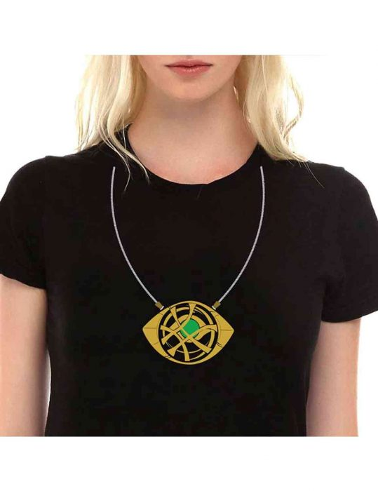 doctor strange eye of agamotto black t shirt