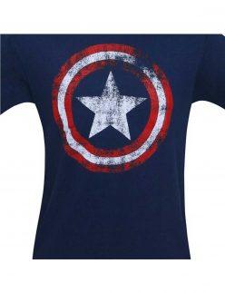 Captain America Shield Navy shirt