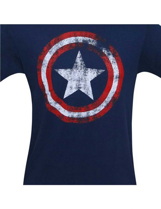 Captain America Shield Navy shirt