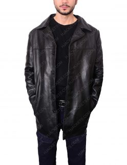 al pacino insomnia detective leather jacket