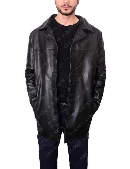 al pacino insomnia detective leather jacket