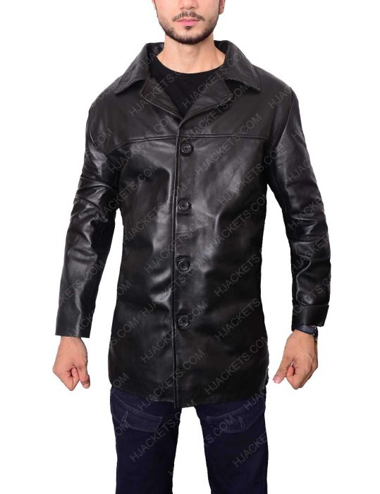 al pacino will dormer insomnia detective leather jacket