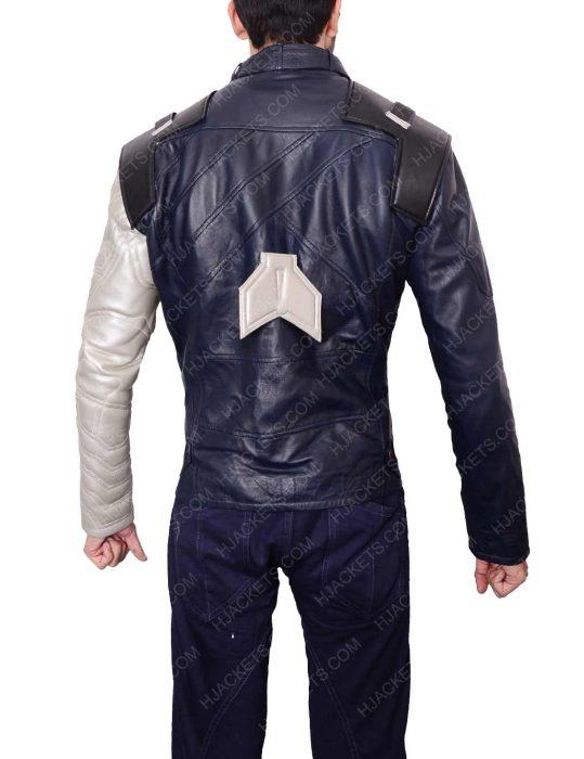 bucky barnes winter soldier avengers infinity war silver armor jacket