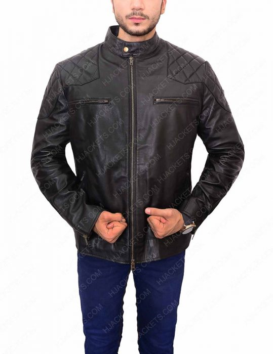 david-beckham-black-quilted-jacket