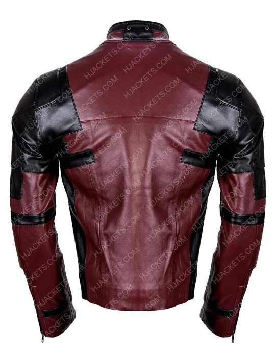 deadpool 2 red jacket