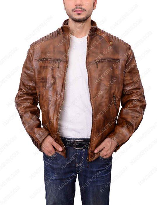 distressed-brown-motorcycle-leather-jacket