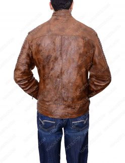 mens-brown-leather-biker-jacket