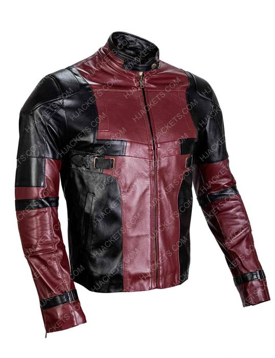 ryan reynolds deadpool 2 leather jacket
