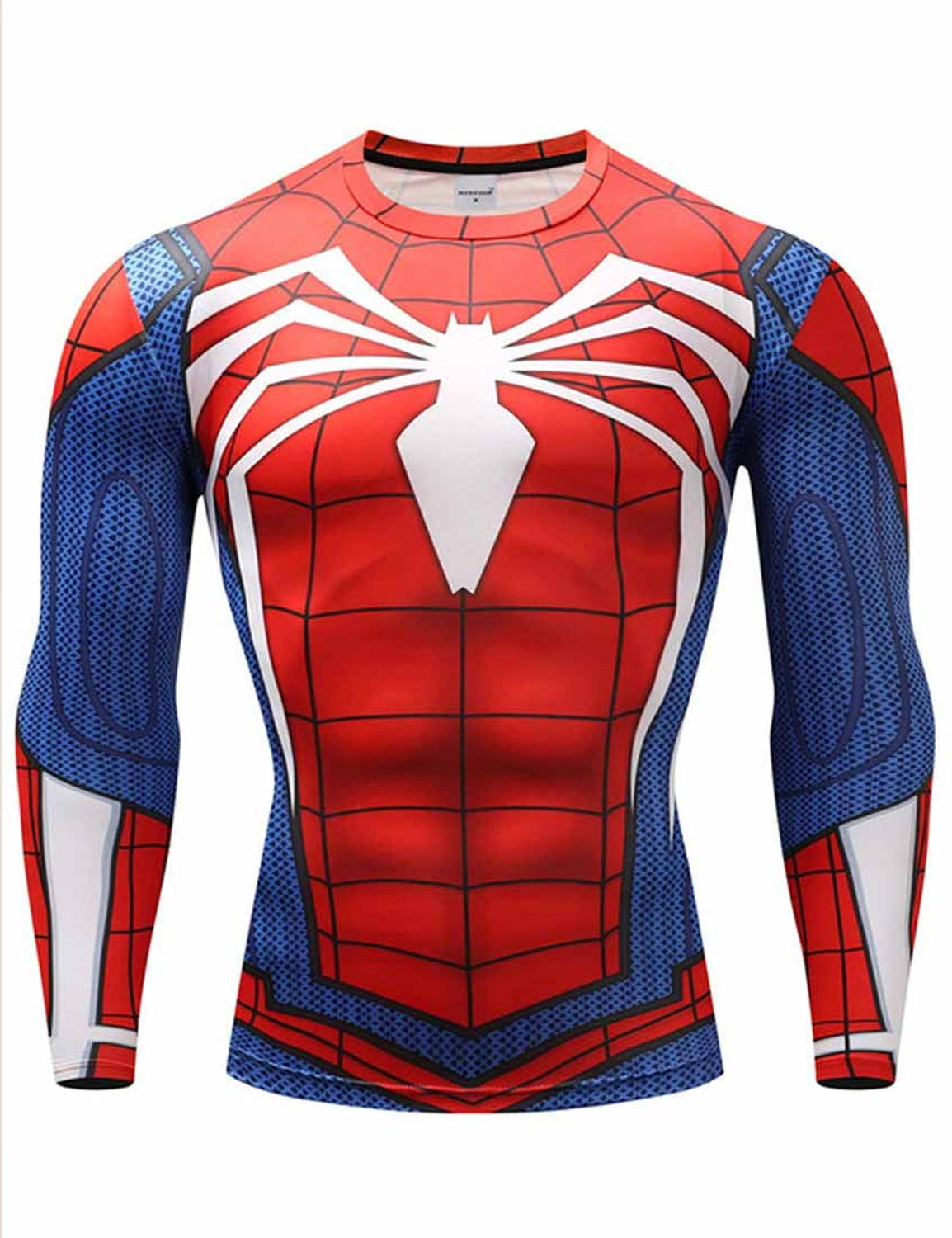 spiderman ps4 shirt long sleeve shirt hjackets. Black Bedroom Furniture Sets. Home Design Ideas