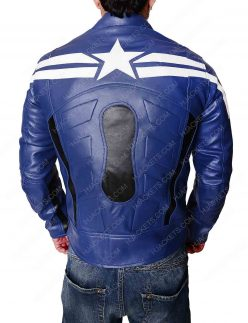 blue captain america winter soldier jacket