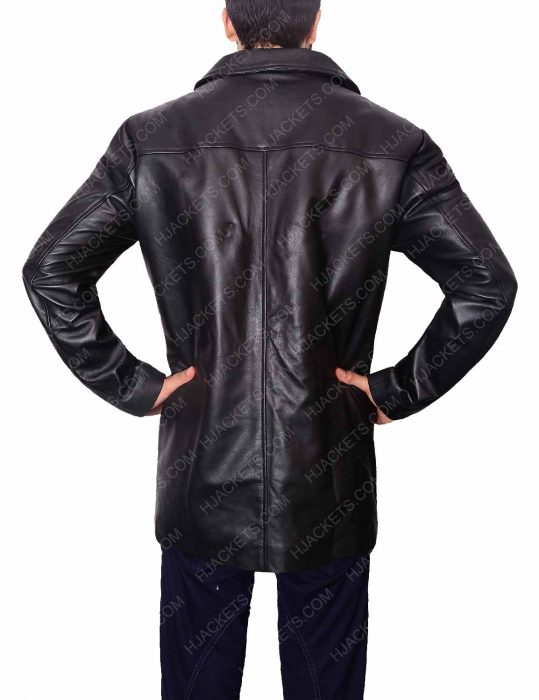 will dormer al pacino insomnia detective leather jacket