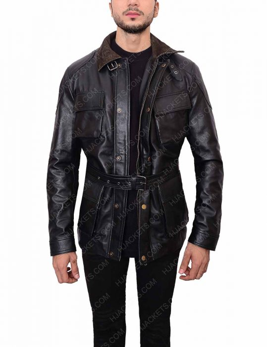 Dark Knight Black Bane Leather Jacket