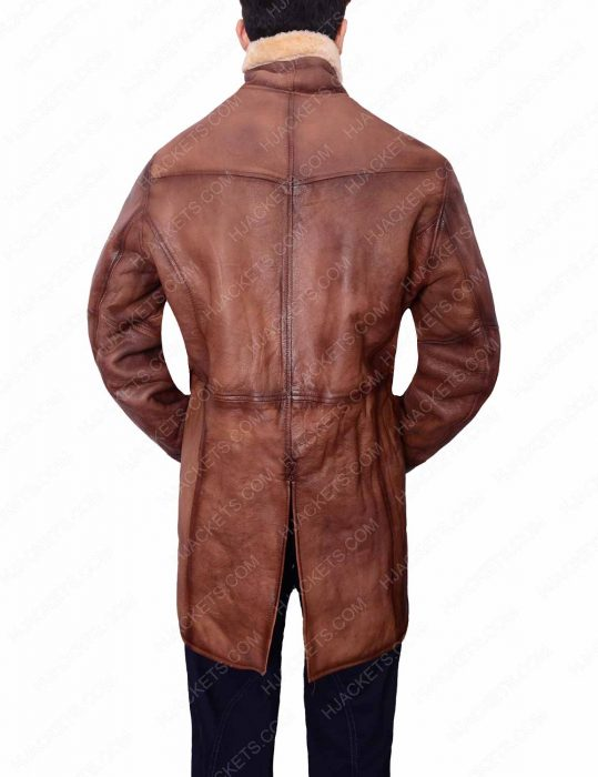 Mens Brown Trench Coat for Sale